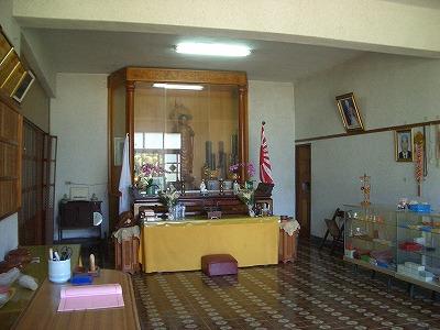 潮音寺には戦没者が祀られている