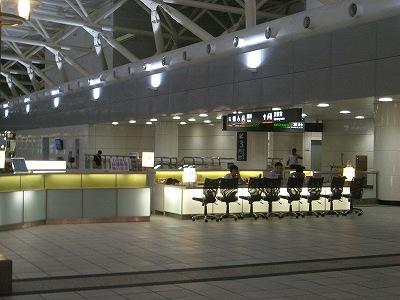 高鉄高雄駅のレンタカーの受付