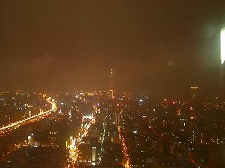 向こうに見えるは台北101