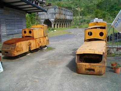 機関車が…ちと怖い